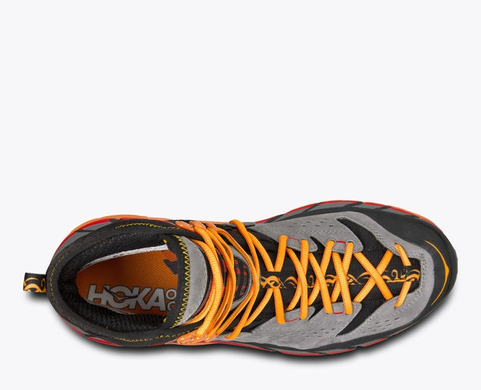 Chaussures Rando/Trek Hoka One One Tor Ultra High Wp Black/Flame - Trekking Hoka One One