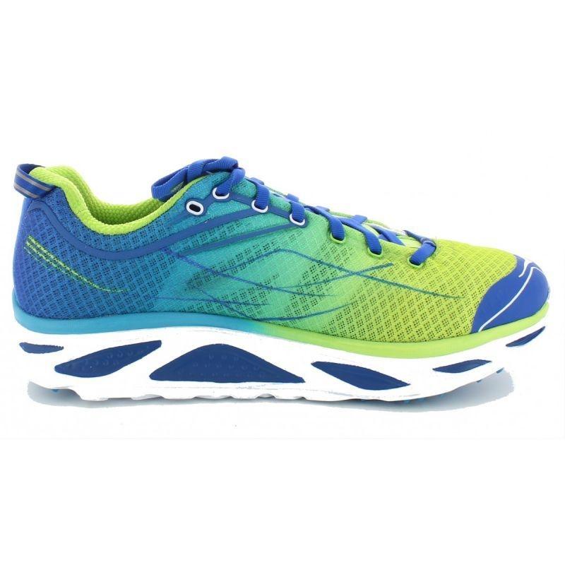 Chaussures Hoka One One Huaka 2 Spring Bud / Blue - Trail/Running Hoka One One