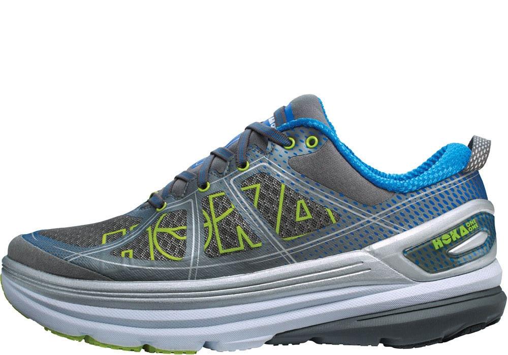Chaussures Running Hoka One One Constant 2 Grey Directoire Blue - Running Hoka One One