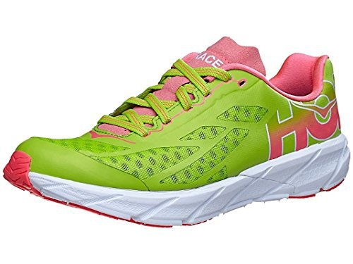 Chaussures Running Hoka One One Tracer Bright Green Néon Pink - Running Hoka One One