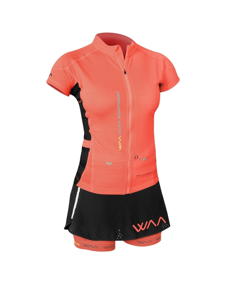Maillot Femme Ultra Carrier Waa Corail 2018 - Maillots Waa