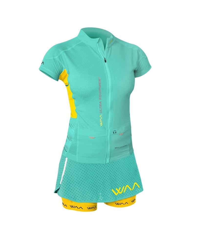 Jupe/Cuissard Femme Ultra Skirt Waa mint 2018 - Shorts/cuissards/jupes Waa