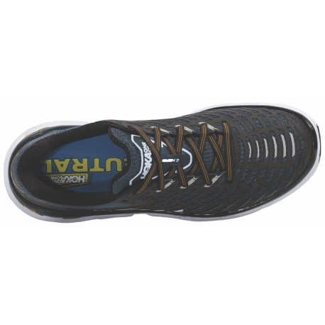 Chaussures Running Hoka One One Vanquish 3 Navy/Gold - Running Hoka One One