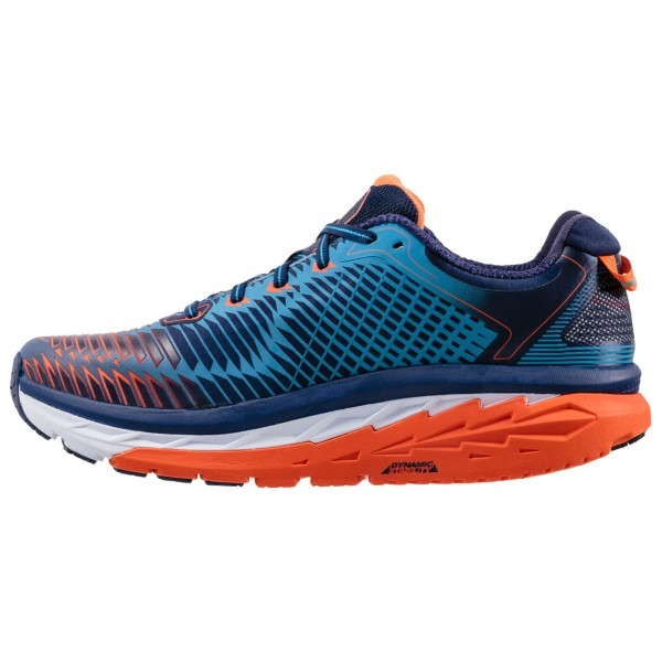 Chaussures Running hoka Arahi Bleu Orange - Running Hoka One One
