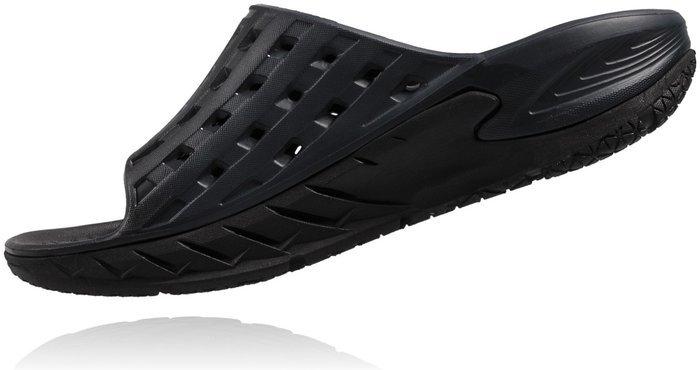 Chaussures Hoka One One Ora Slide Black / Anthracite - Life Style Hoka One One