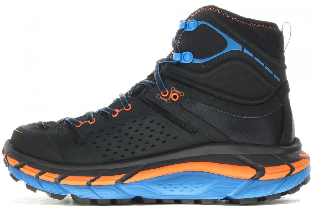 Chaussures Rando Trek hoka Tor Ultra Hi Wp Anthracite Orange - Trekking Hoka One One