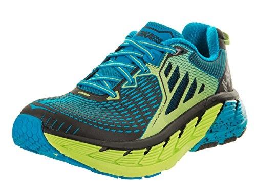 Chaussures Running Hoka Gaviota Vert Bleu - Running Hoka One One