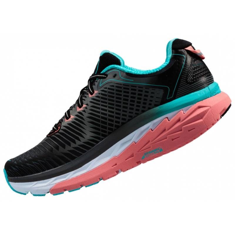 Chaussures Running hoka Arahi Anthracite Bleu Topaz - Running Hoka One One