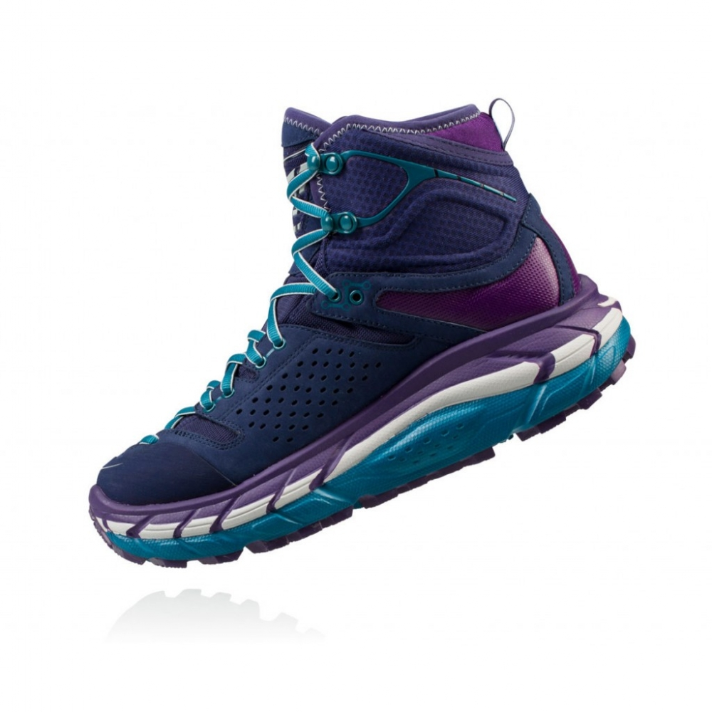 Chaussures Rando Trek hoka Tor Ultra Hi Wp Peacoat Violet - Trekking Hoka One One